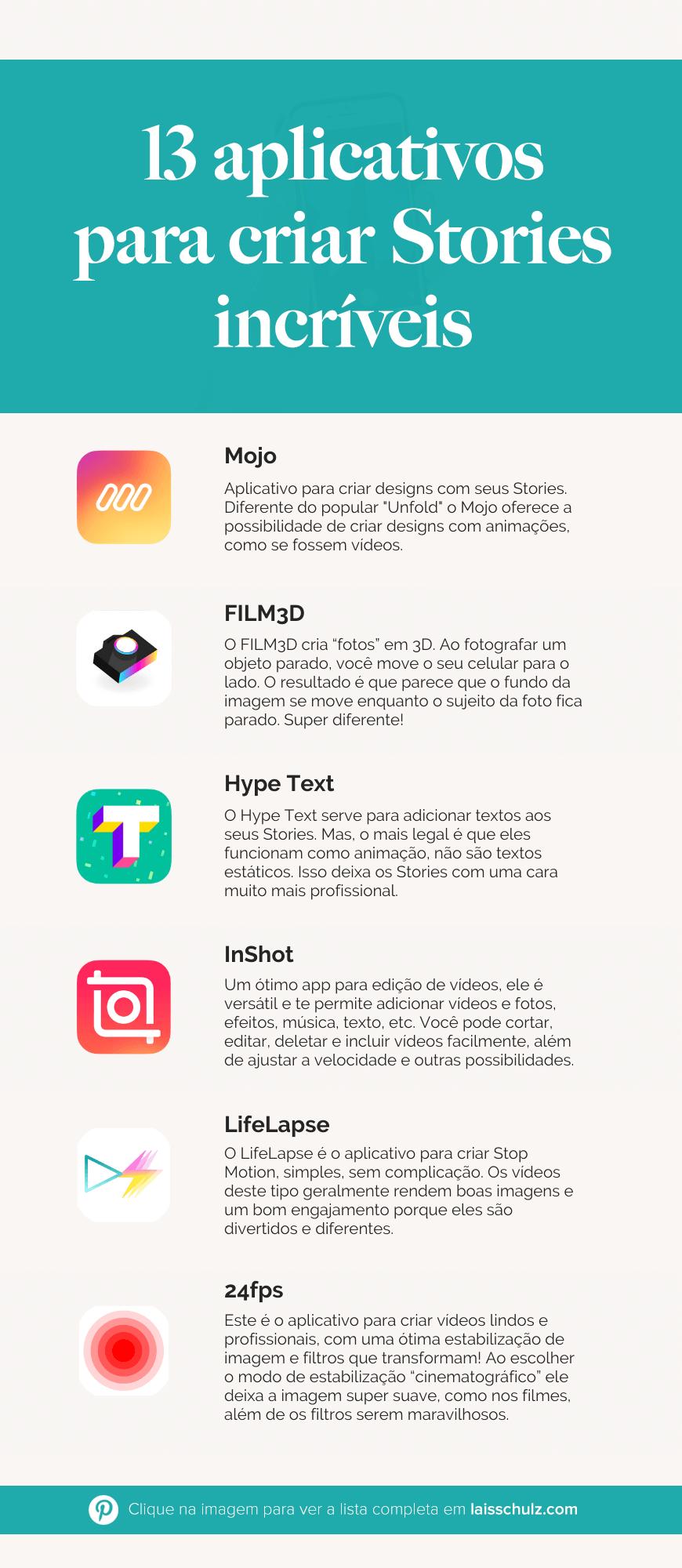 aplicativos para criar stories
