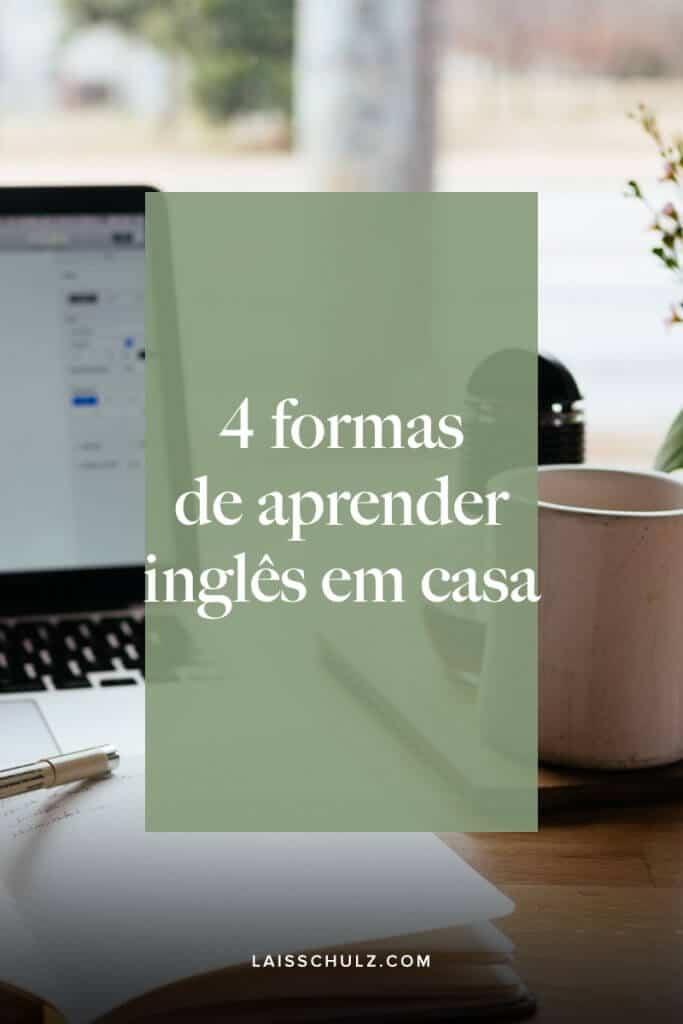 aprender ingles em casa
