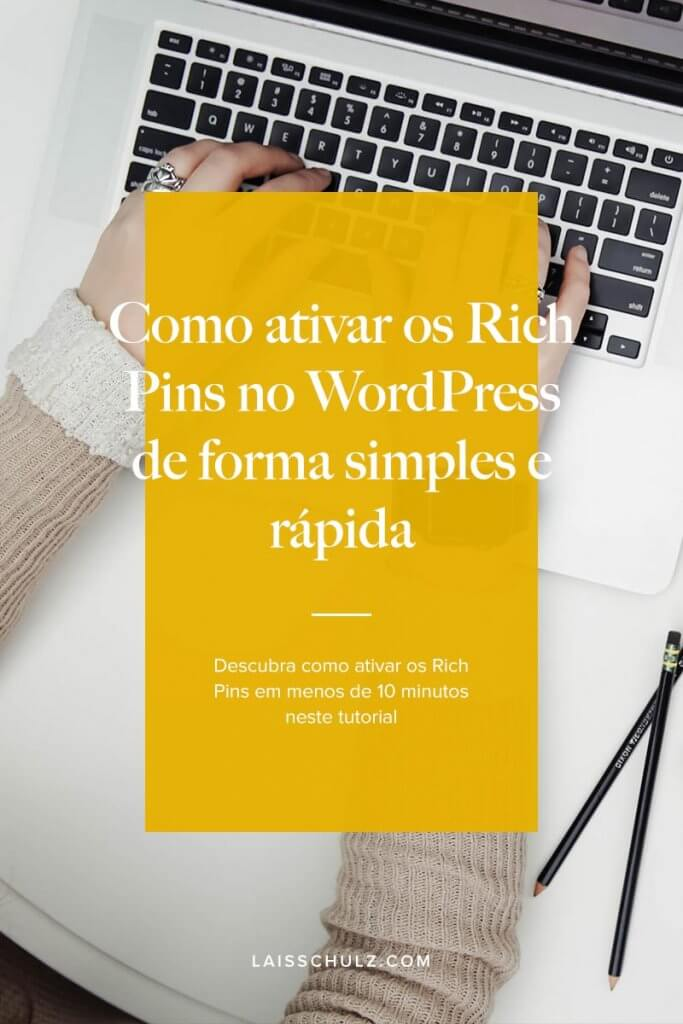 como ativar rich pins no wordpress